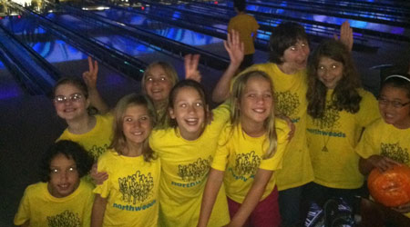 Camp Northwoods - bowling