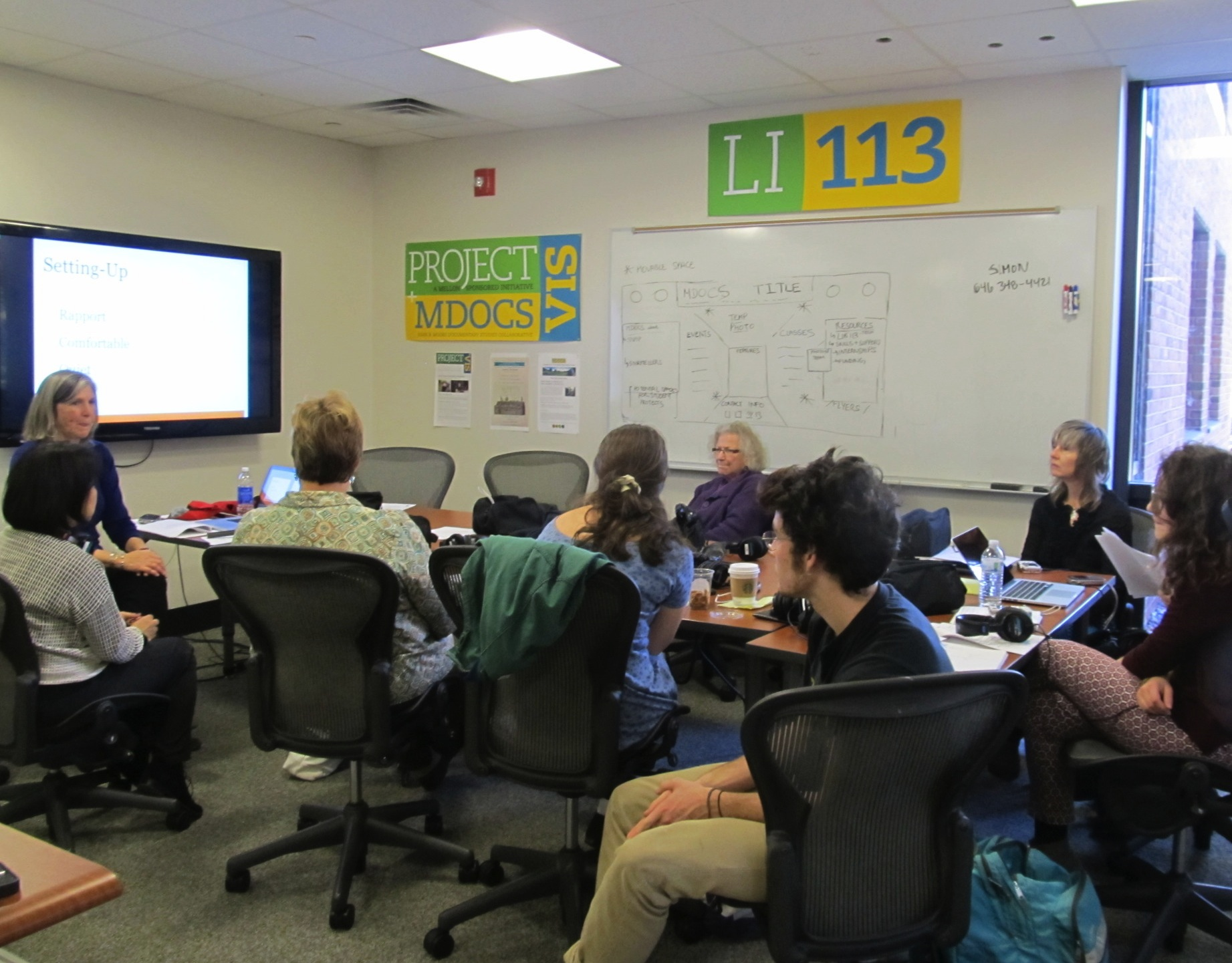LI 113 A Workshop (McAdam, 10/2014)