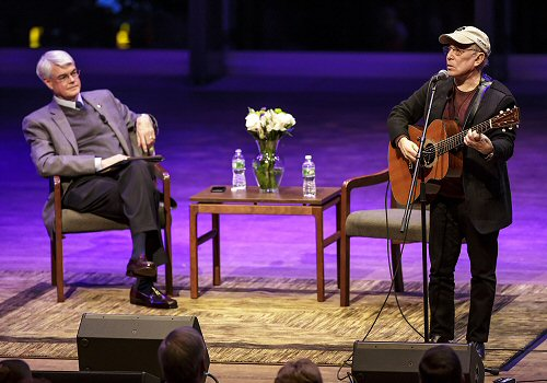 Phillip Glotzbach, Paul SImon
