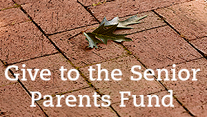 Give to the Senior Parents Fund