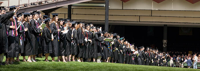 Commencement at SPAC