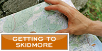 Getting to Skidmore